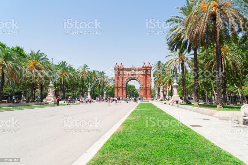 Arc de Triomph, Barcelona stock photo