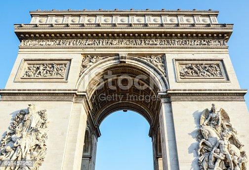 istock Arc de Triomphe - Arch of Triumph Paris - France 651457982