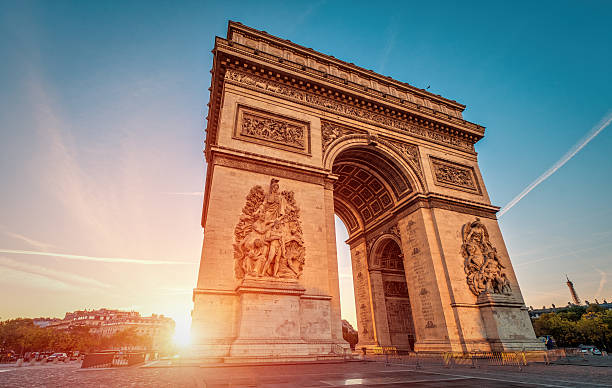 Arc de Triomphe at dawn - Paris – Foto