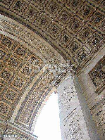 istock Arc de Triomphe ceiling 90631400
