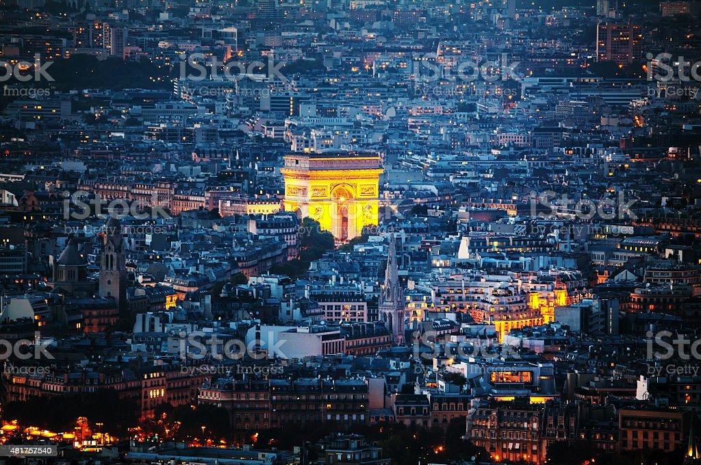Arc de Triomphe de l'Étoile à Paris - Photo