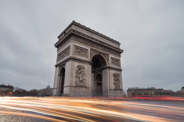 Arc de Triomphe auf dem Charles-de-Gaulle-Platz, Paris, Frankreich – Foto