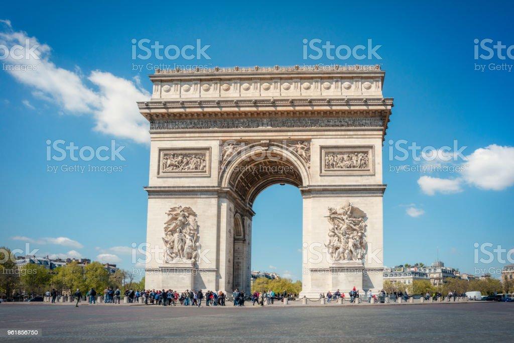 Arc de triomphe, Paris, Frankrijk foto
