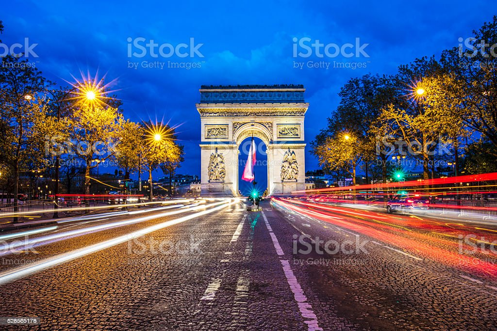 Arc de Triomphe - Paris​​​ foto