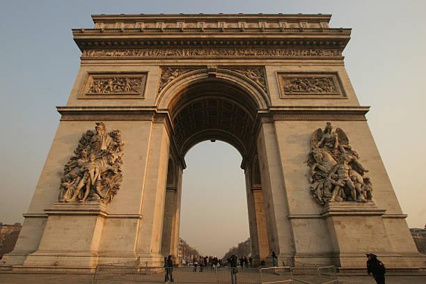 L'Arc de Triomphe stock photo
