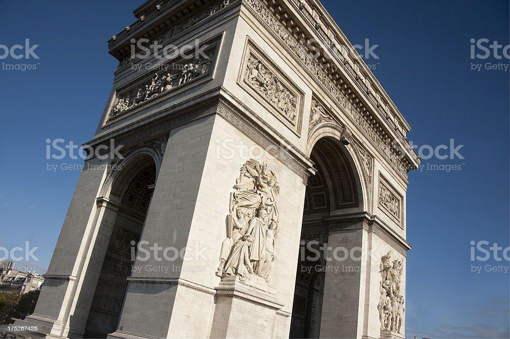 Arc de Triomphe. royalty-free stock photo