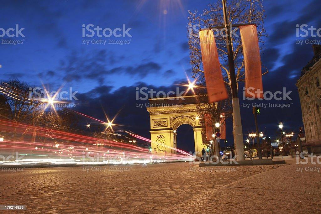 Arc de Triomphe royalty-free stock photo