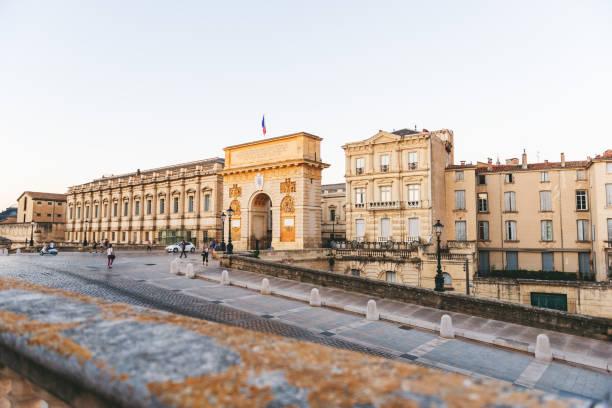 Arc de Triumphe, Montpellier, Frankreich – Foto