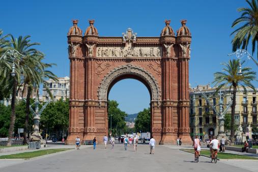 Arc del Triomf, Barcelona, Spain