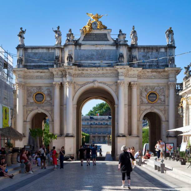 Arc Héré in Nancy stock photo
