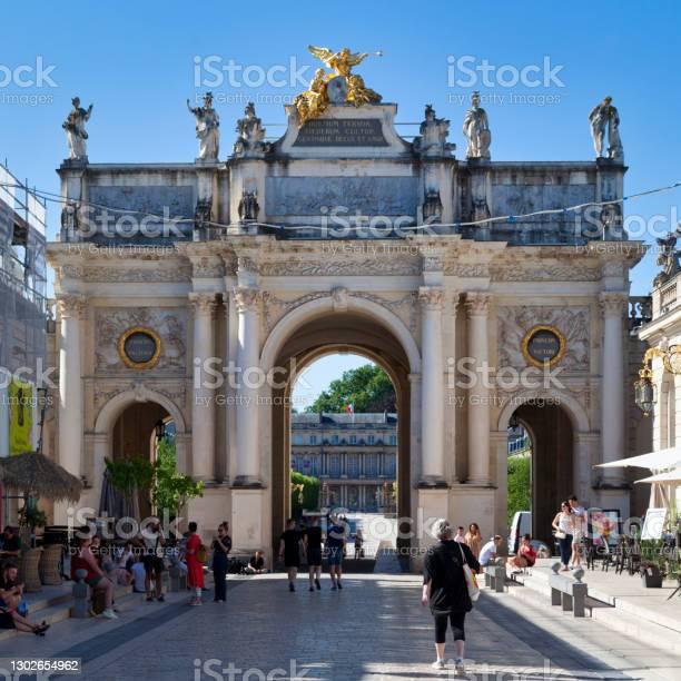 Arc Héré In Nancy Stock Photo - Download Image Now