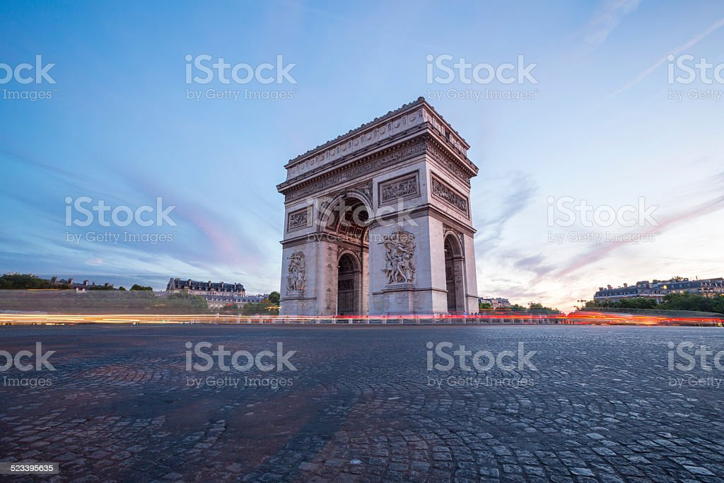 Arc of Triomphe Paris​​​ foto