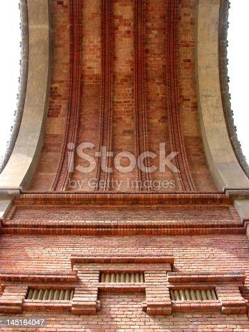 istock Arc of Triumph in Barcelona 145164047