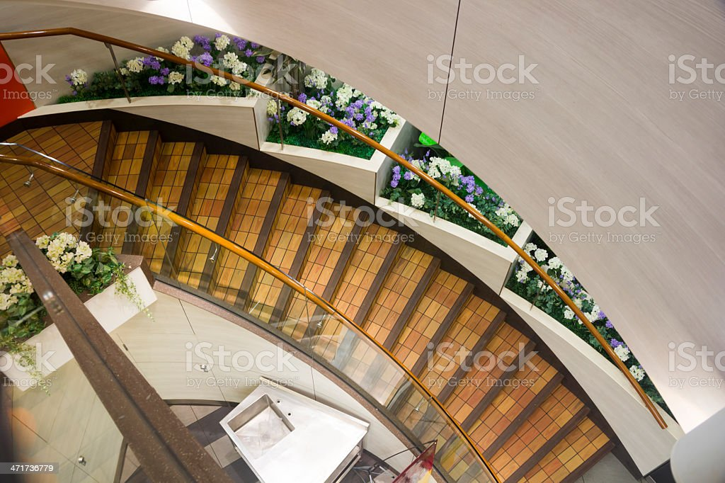 Arc stair step royalty-free stock photo