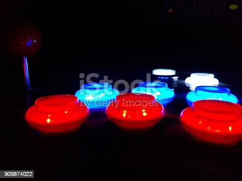 istock Arcade Game Buttons 909874022