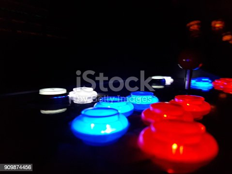 istock Arcade Game Buttons 909874456