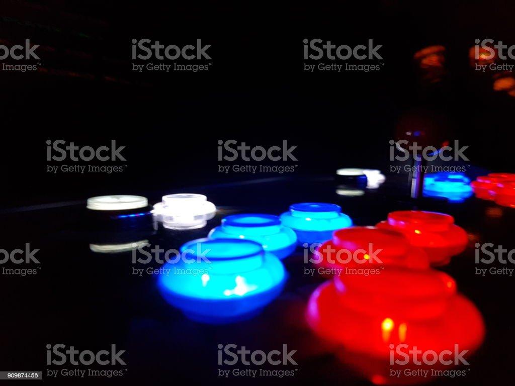 Botones de juego Arcade - foto de stock