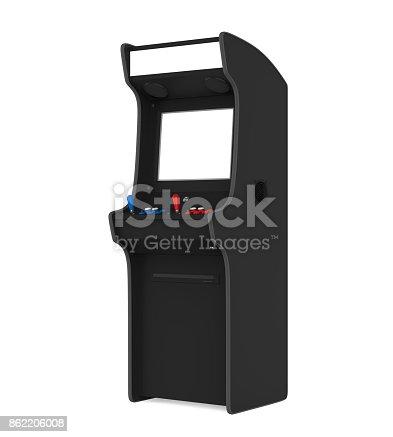 istock Arcade Game Machine Isolated 862206008