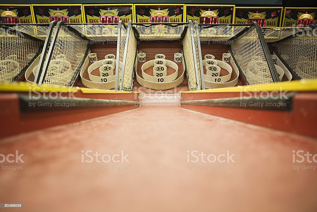 Arcade game stock photo