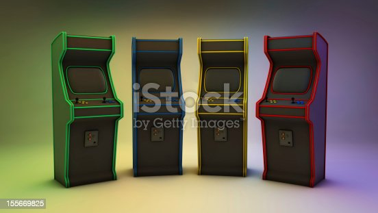 istock Arcade Games 4 Colors Frontal 155669825