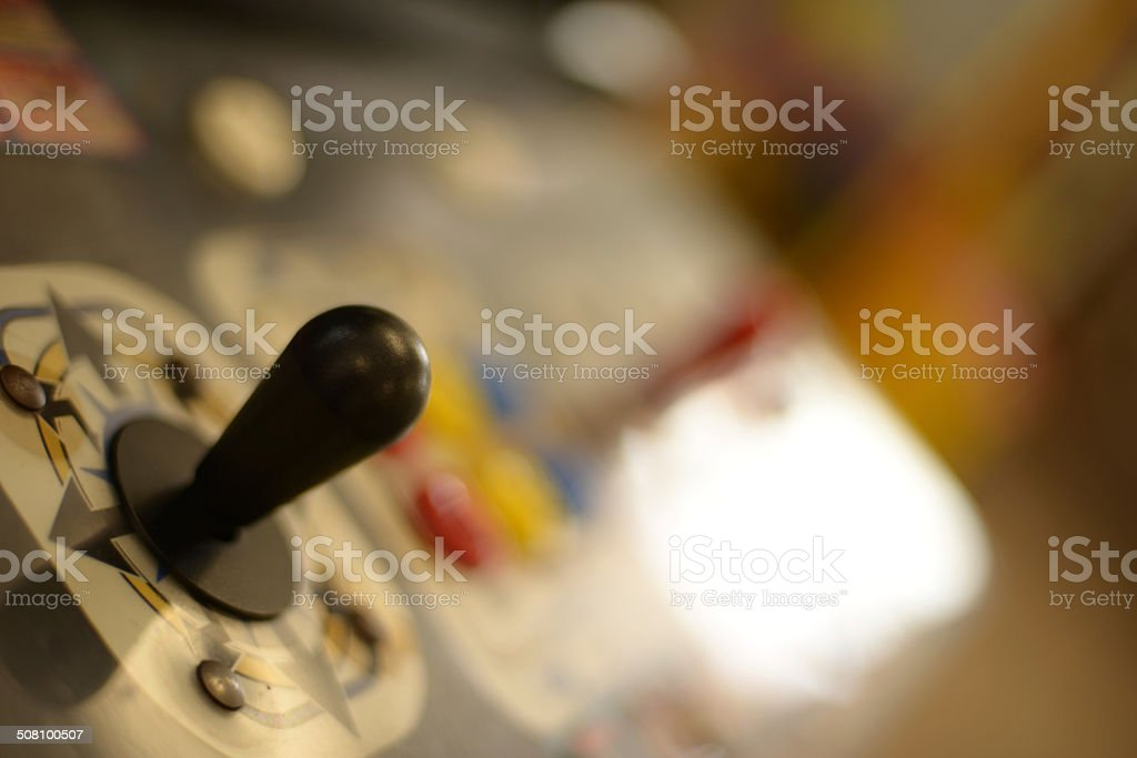 Arcade Joystick stock photo