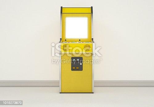 istock Arcade Machine In Vintage Room 1015273670