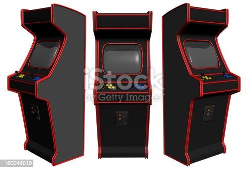 istock Arcade Video Gaming 160044619