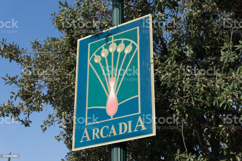 Arcadia California stock photo