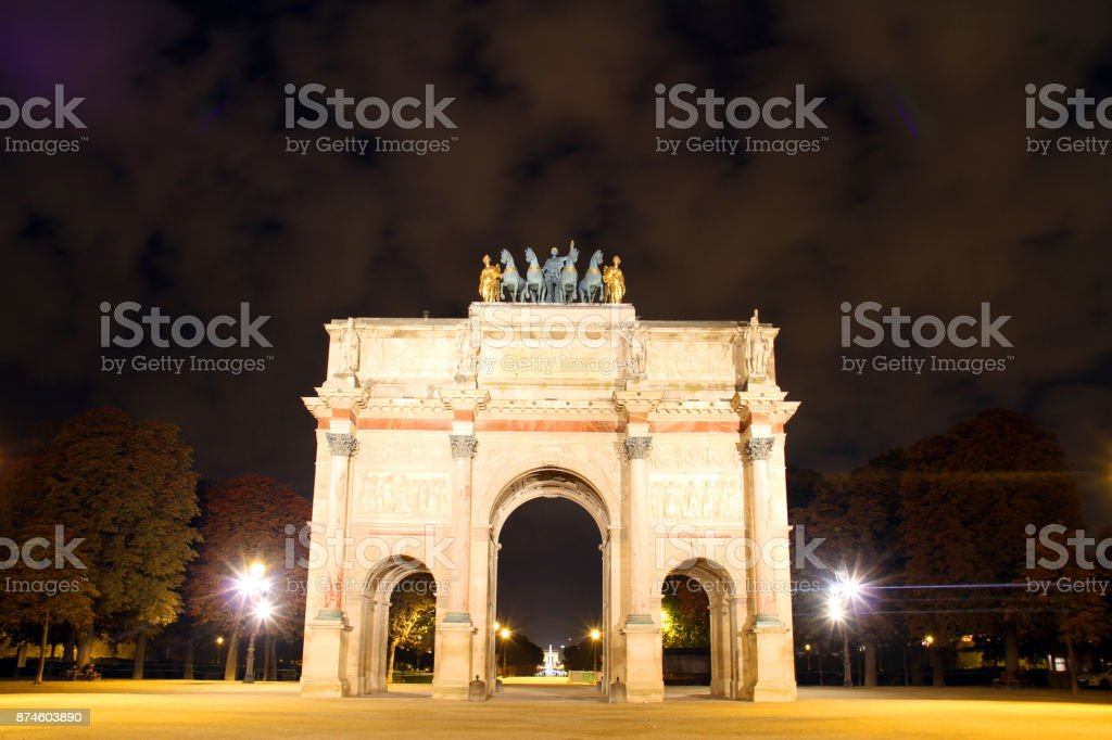 Arch and Arches stock photo
