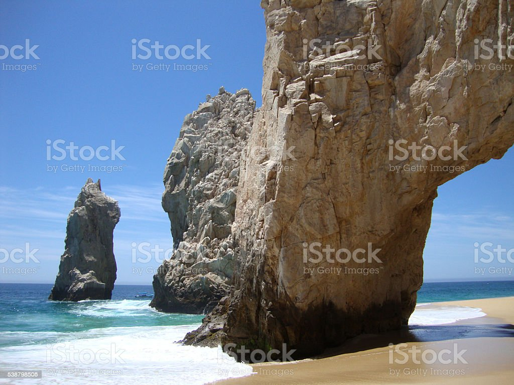 Arch at Lands End en Cabo San Lucas, México. - foto de stock