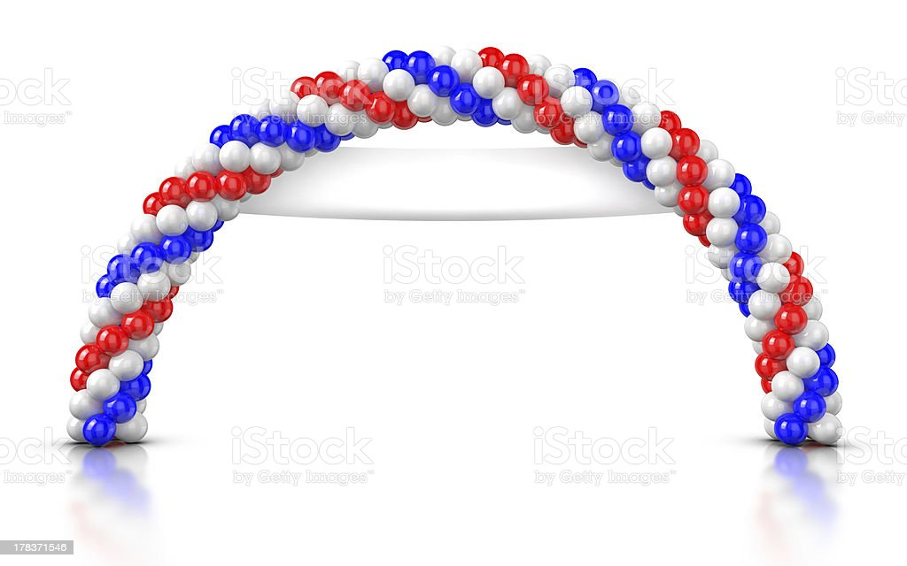 Arch Balloons - Opening Ceremony royalty-free stock photo