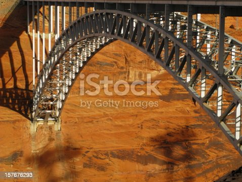 Arch Bridge at Glen Canyon Dam.
