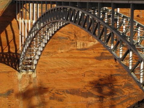 Arch Bridge at Glen Canyon Dam.