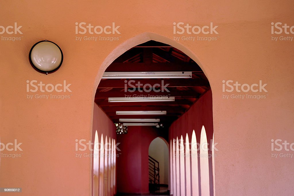 Arch - color stock photo