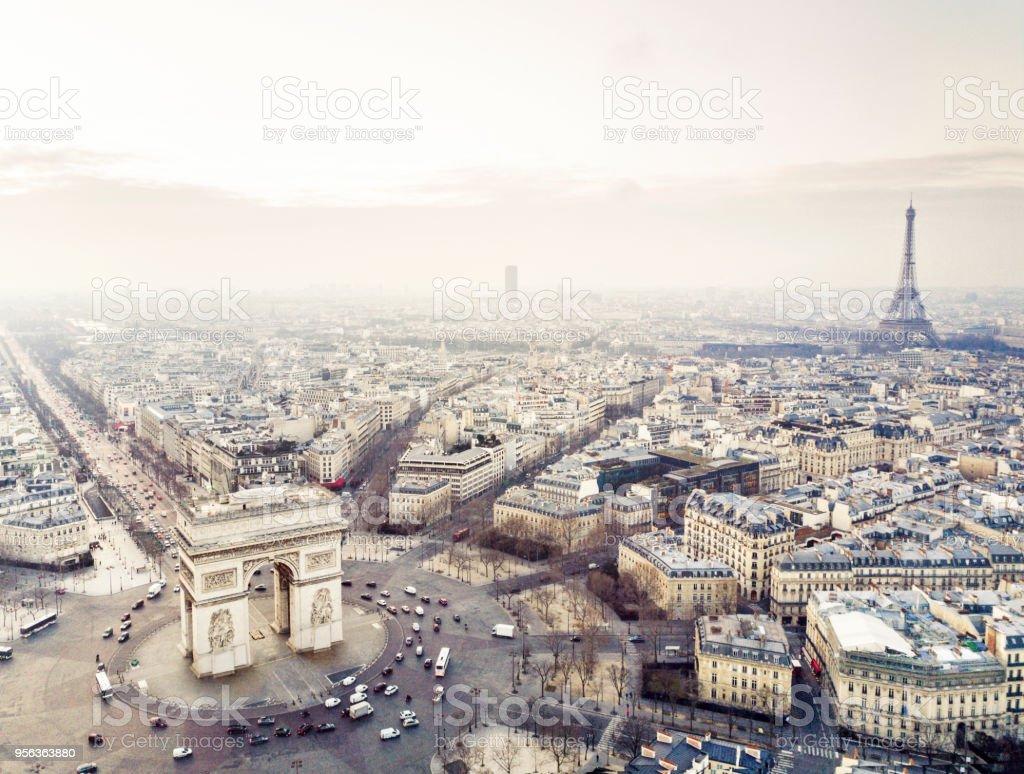 Arch de triomphe stock photo