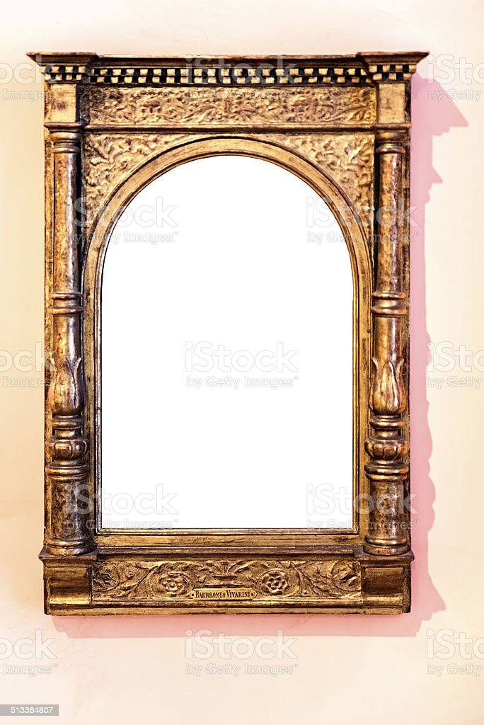 Arch frame stock photo