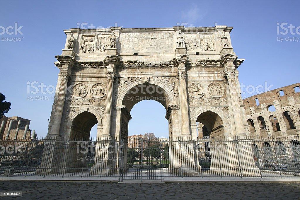 Arco de Constantin - foto de acervo