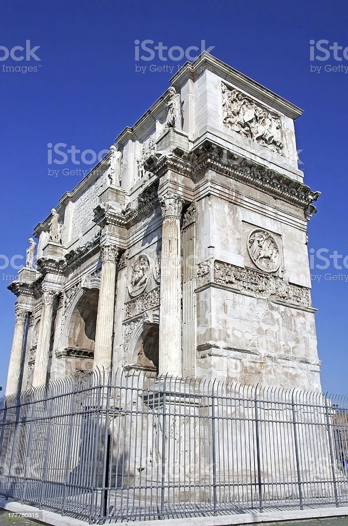 Arch of Constantine royalty-free stock photo