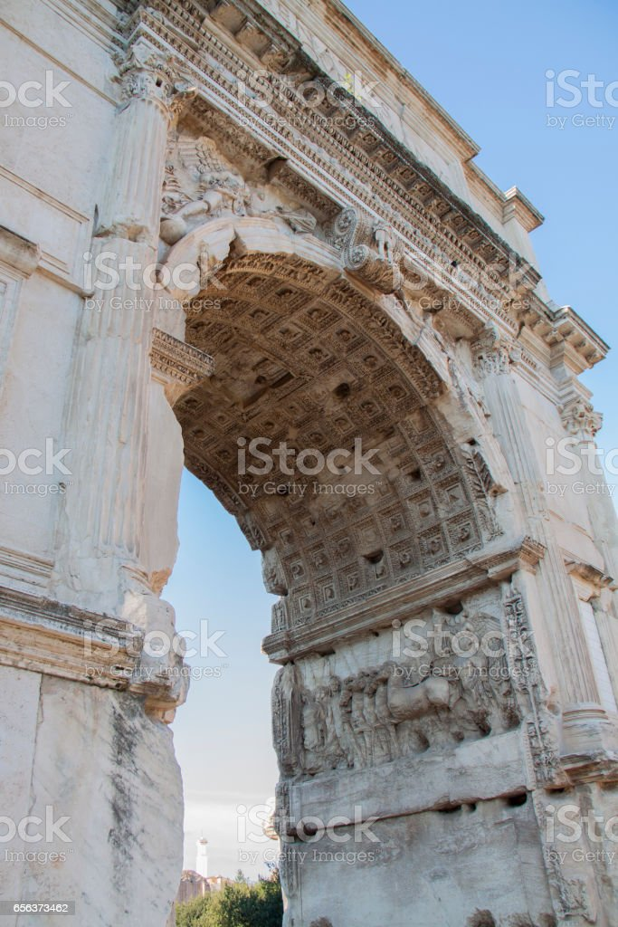 Arch of Constantine стоковое фото