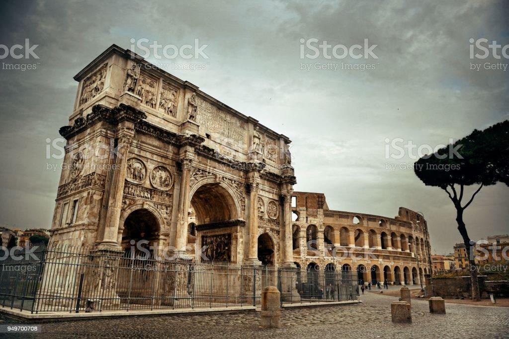 Arco de Constantino - foto de acervo