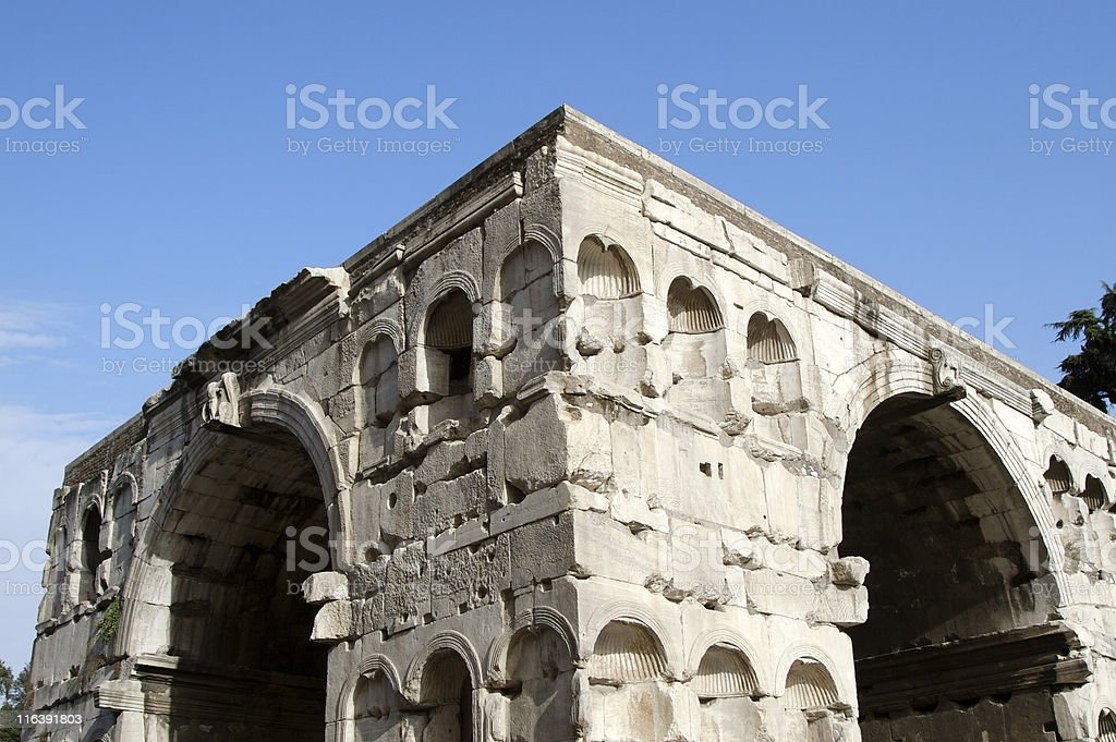 Arch of Janus royalty-free stock photo