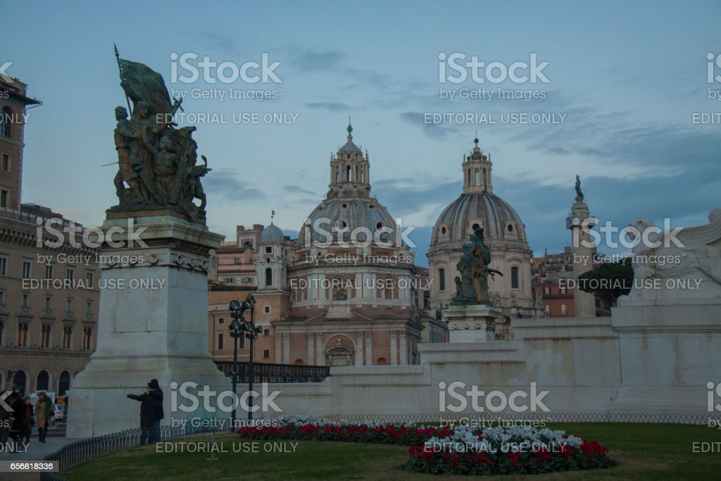 Arch of Janus, Rome stock photo