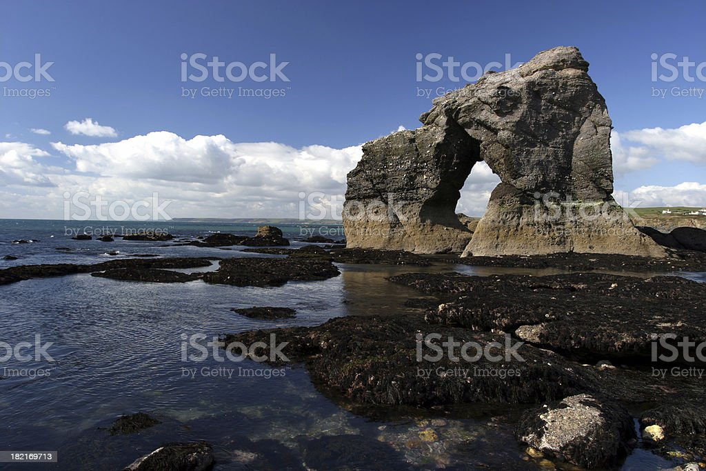 Arch of stone 1 royalty-free stock photo