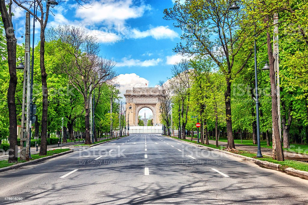 Arch of Triumph, Bucharest, Romania foto
