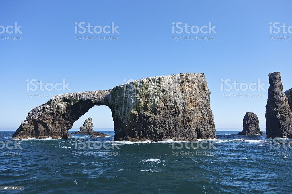 Arch Rock stock photo