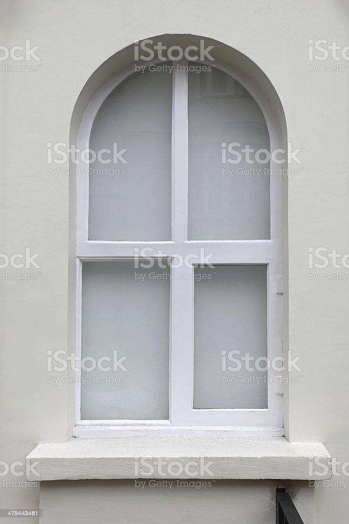 Arch window royalty-free stock photo