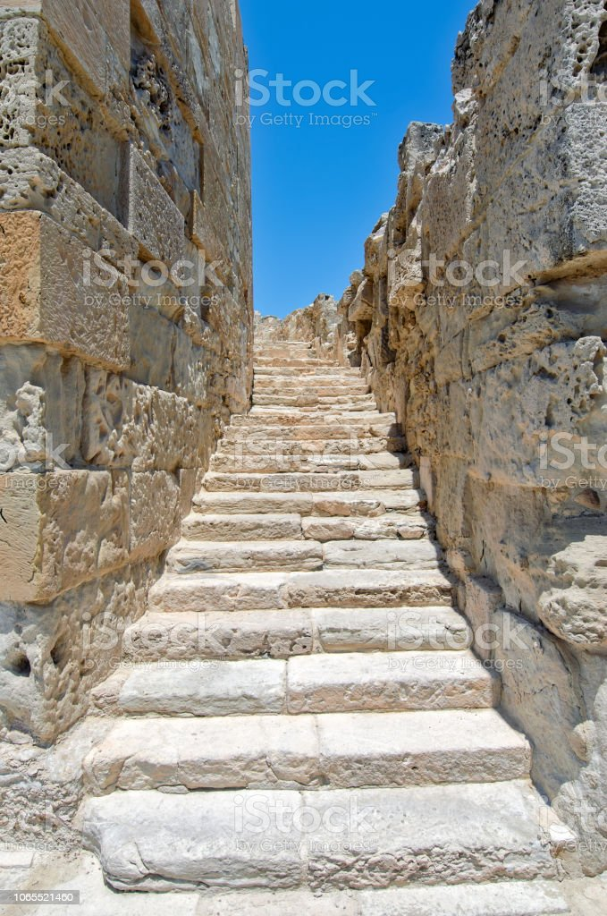 Archaeological museum Kourion in Cyprus stock photo