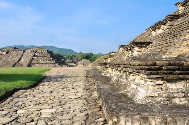 Archaeological site of El Tajin, Veracruz, Mexico Archaeological site of El Tajin, Veracruz in Mexico el tajin stock pictures, royalty-free photos & images