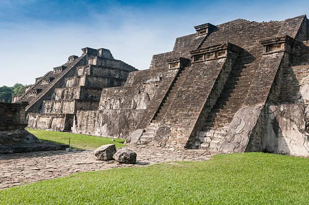 Archaeological site of El Tajin, Veracruz (Mexico) Archaeological site of El Tajin, Veracruz (Mexico) el tajin stock pictures, royalty-free photos & images