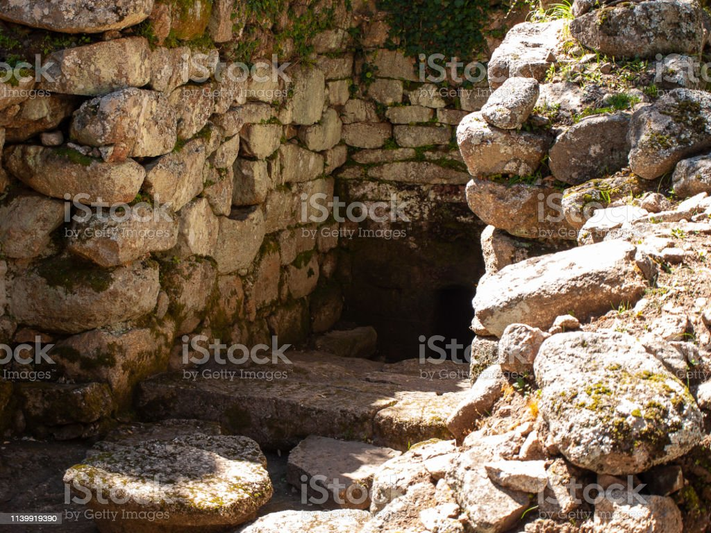 archaeological site of Noddule in the megalithic circle and large...
